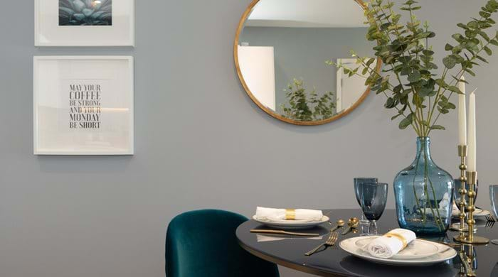 Battersea Reach 2 bed show home - Dining Room