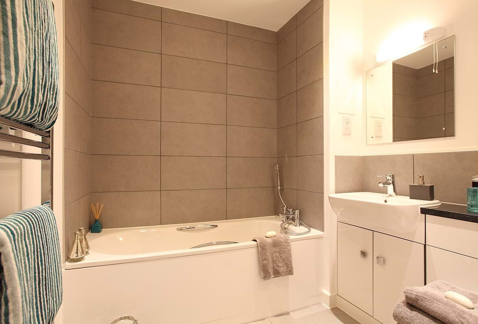 Show home bathroom at Canons Row