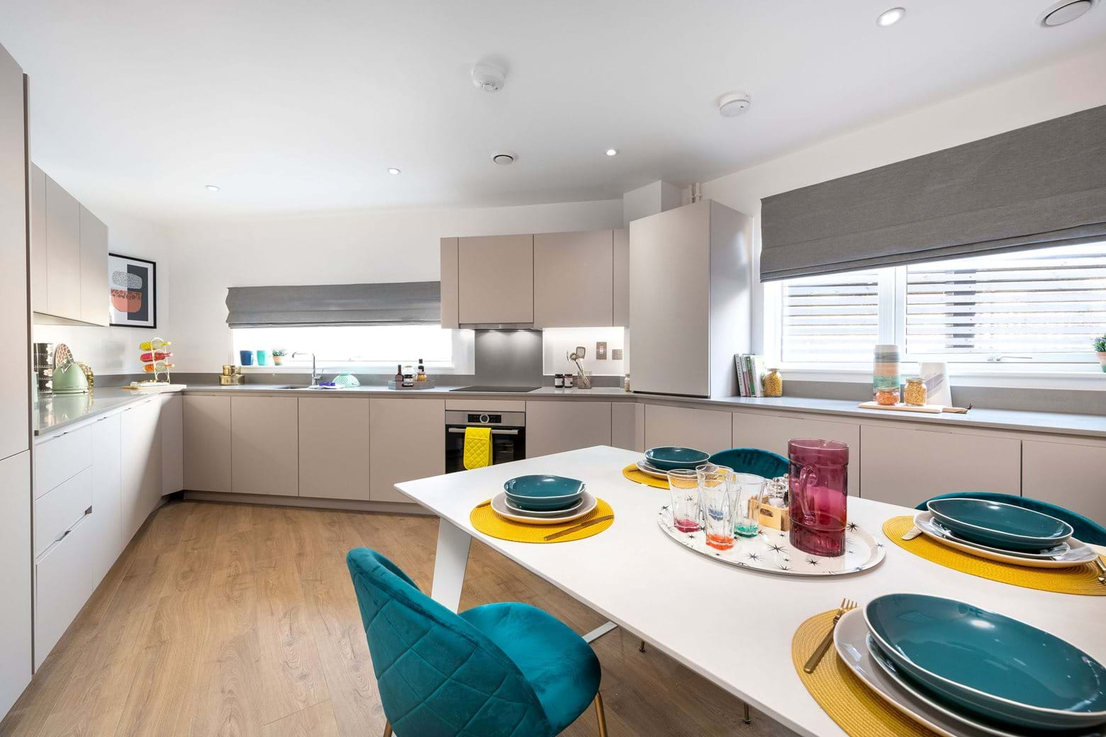 The Medlar Collection Show Home - Kitchen and Dining area
