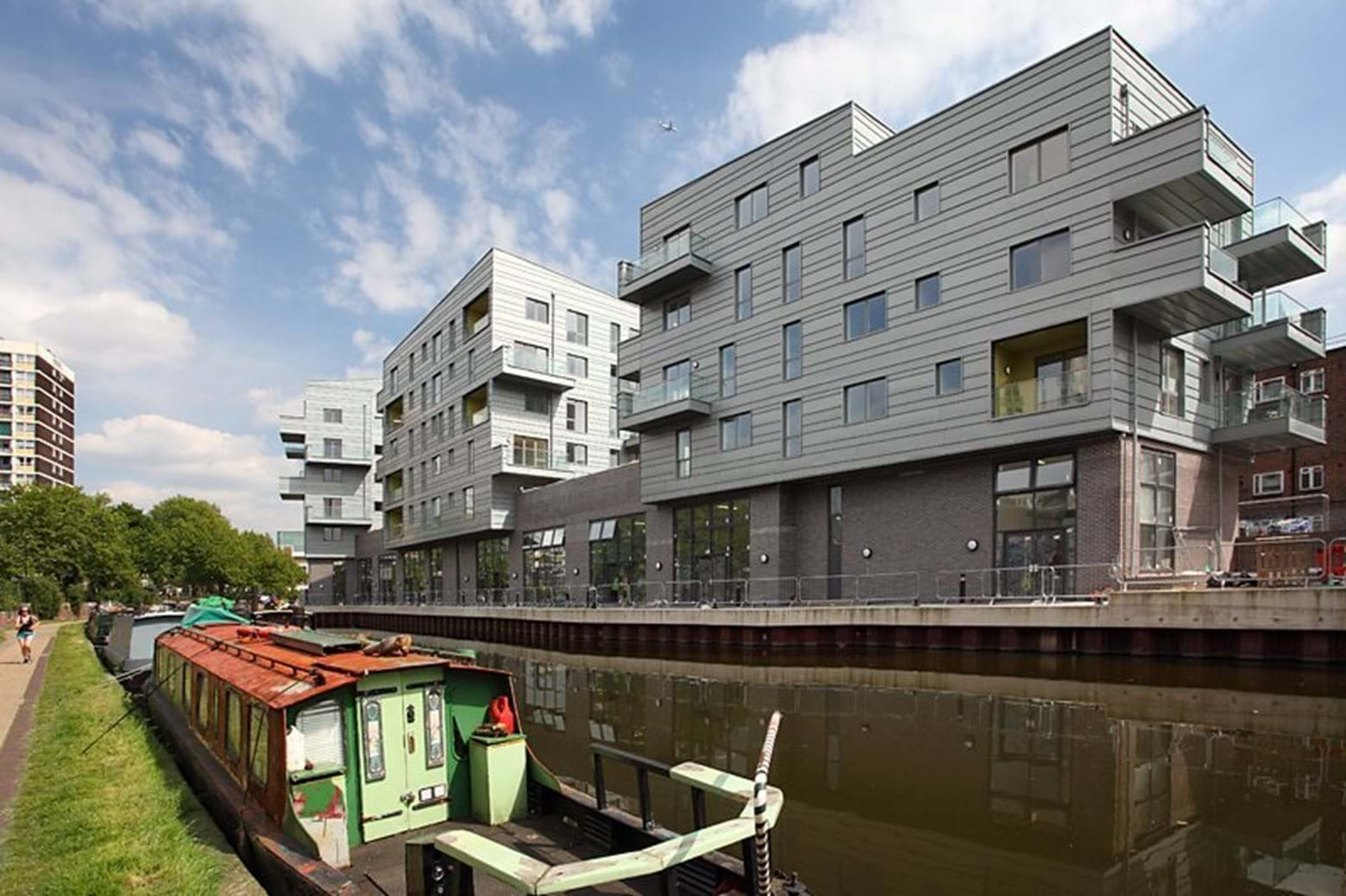Lime Wharf development in Hackney