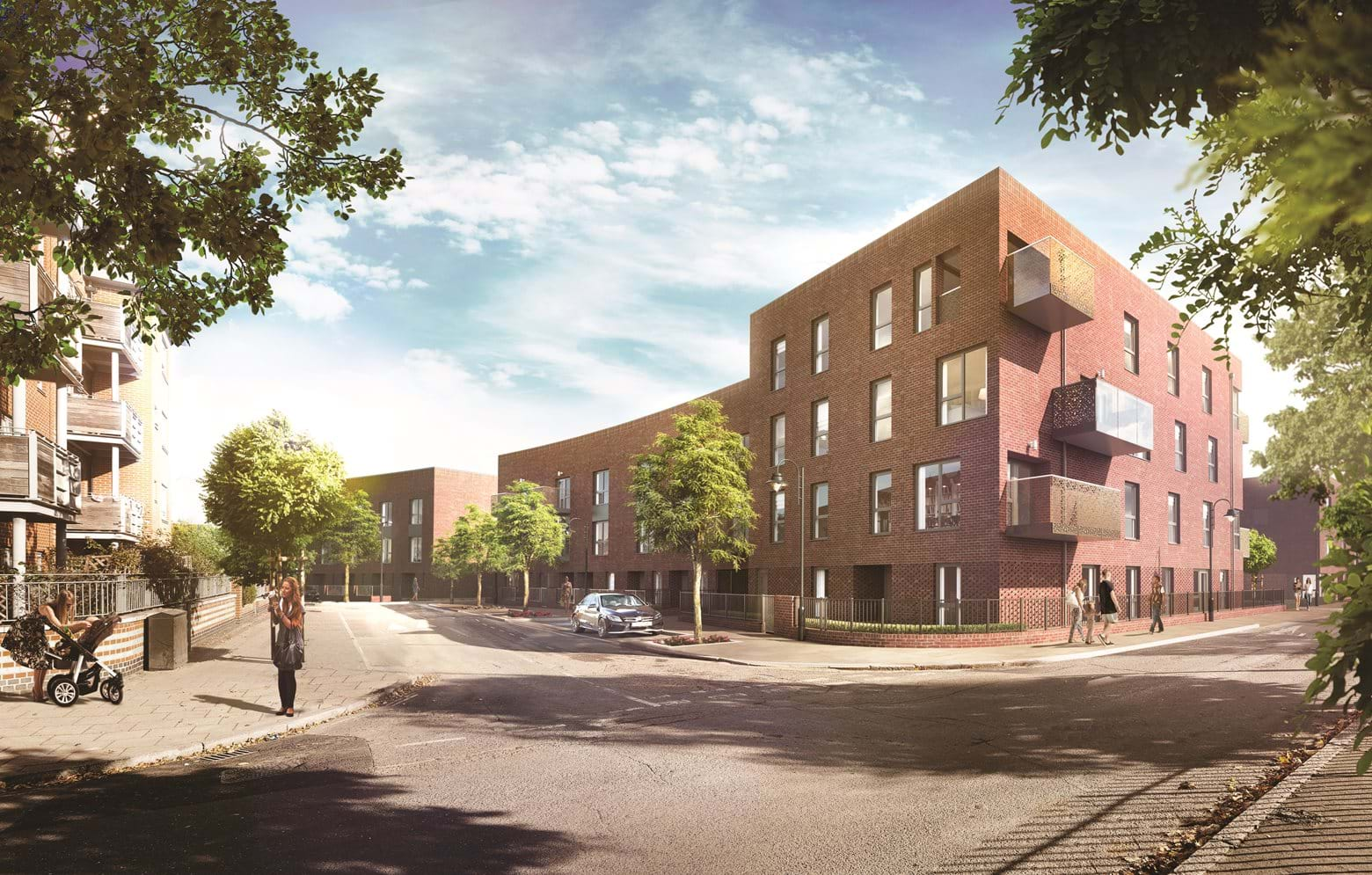 The Elmington, a selection of Shared Ownership homes in Camberwell