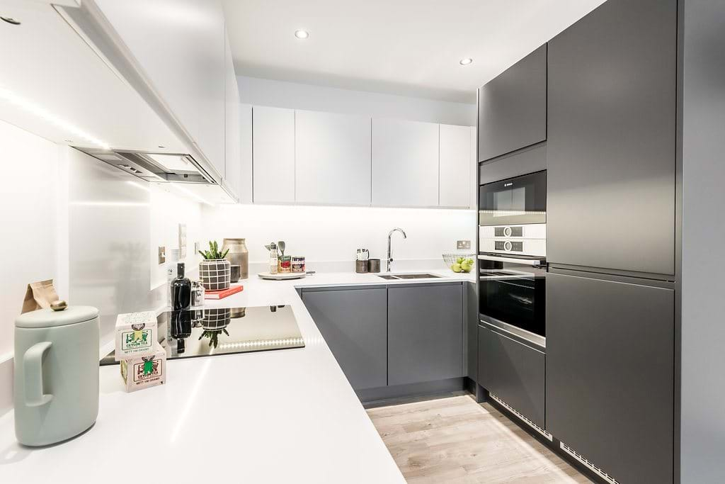 Fish Island Village Shared Ownership Show Home Kitchen