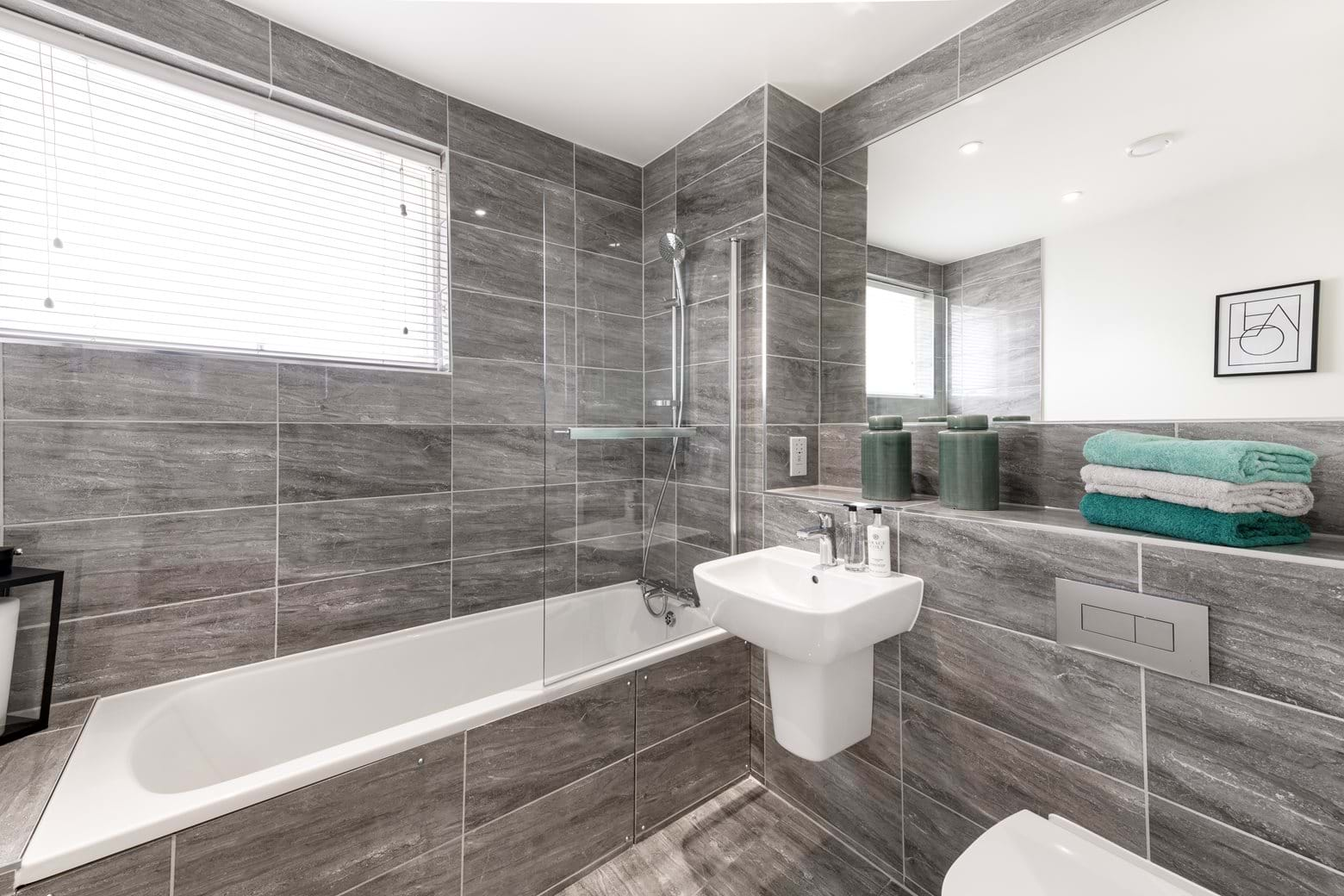 Ternary Place show home - Bathroom