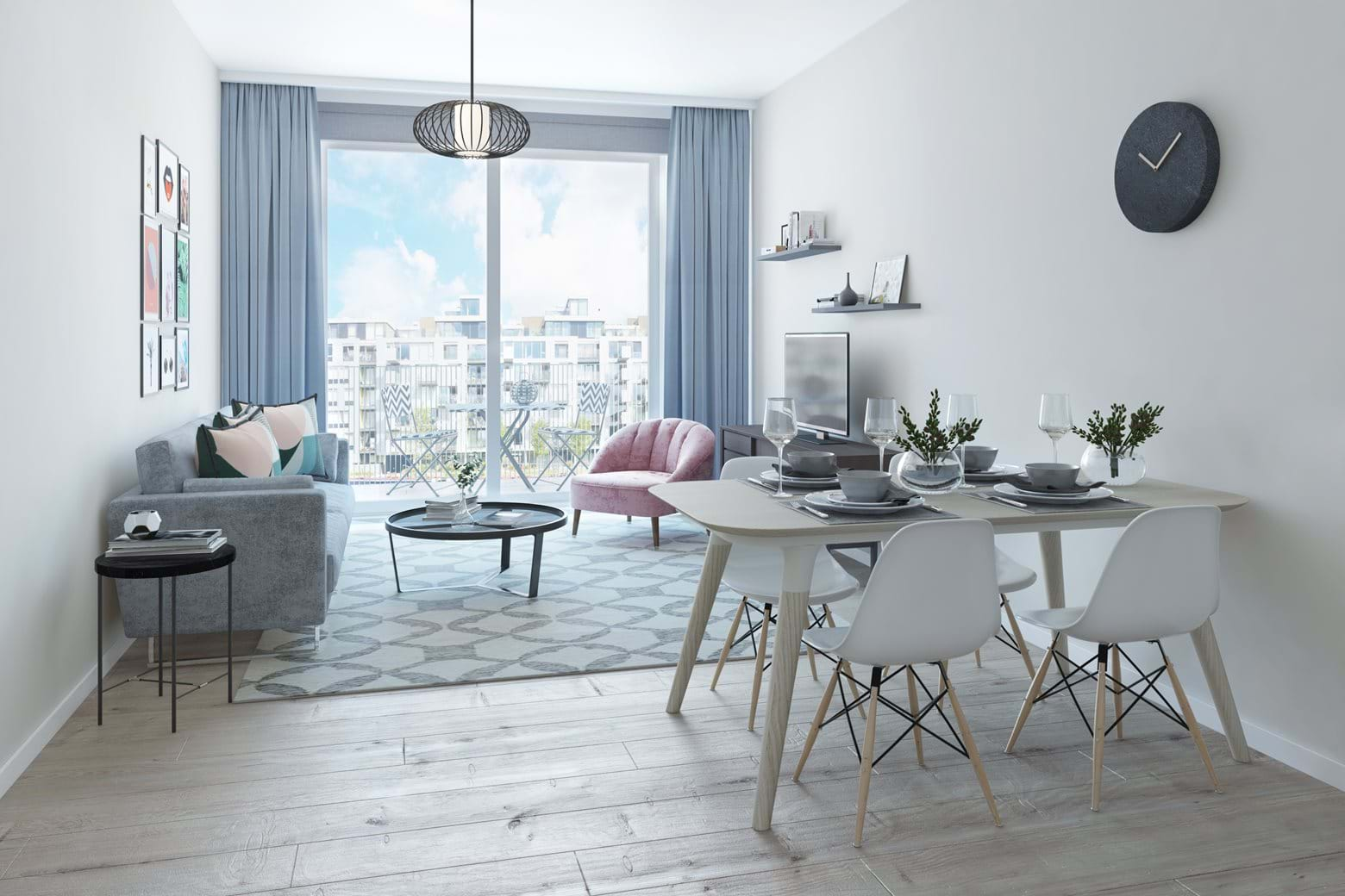Wharf Road Interior CGI